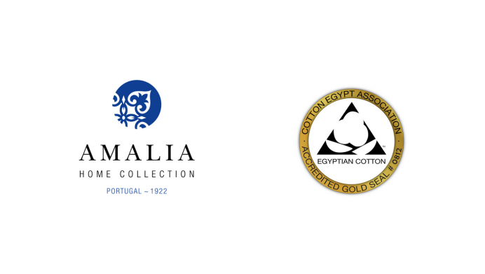 image of egyptian cotton certificate gold seal of amalia home collection